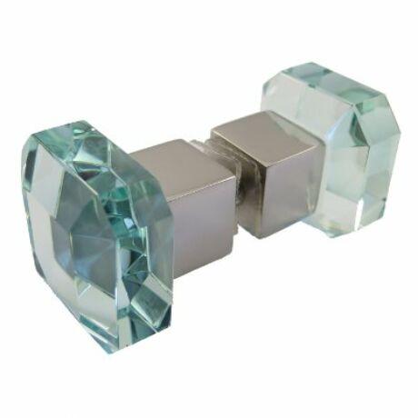 DUAL-G-02GL Kocka üveggomb