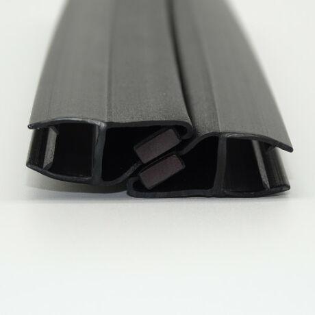 MATT FEKETE 90-180°mágneses profil 8 mm-es üveghez