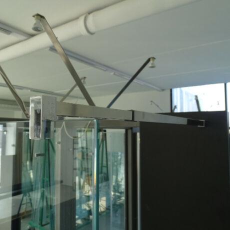 Fal-üveg merevítő szett, teleszkópos