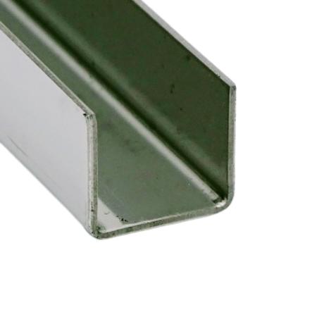 U profil FÉNYES, 14x14x14 mm (belső méret)